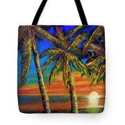 Hawaiian Moon #404 Tote Bag