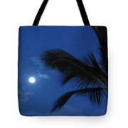 Hawaiian Moon Tote Bag