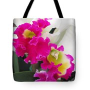 Hawaiian Orchid 10 Tote Bag