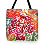 Hawaiian Orchid Tote Bag