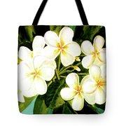 Hawaiian Plumeria #56 Tote Bag
