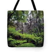 Hawaiian Rainforest Tote Bag