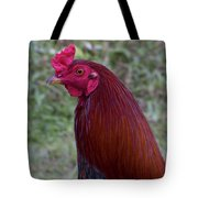 Hawaiian Rooster Tote Bag