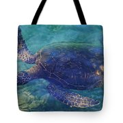Hawaiian Sea Turtle Tote Bag