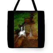 Hawaiian Stream Tote Bag