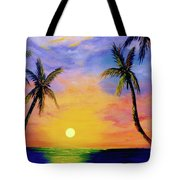 Hawaiian Sunset #36 Tote Bag