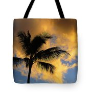 Hawaiian Sunset Hanalei Bay 5  Tote Bag