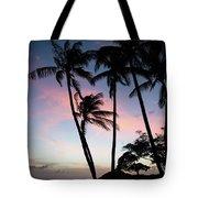 Hawaiian Sunset On Molokai  Tote Bag