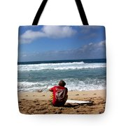 Hawaiian Surfer Tote Bag