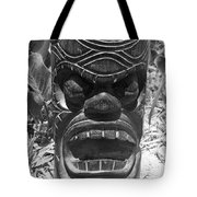 Hawaiian Tiki God Ku Tote Bag