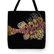 Hawaiian Turkey Fish Tote Bag