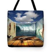 Hawaiian Zen Room Tote Bag