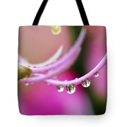 Hawaiin Rain Drops Tote Bag