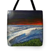 Hawiian View Tote Bag