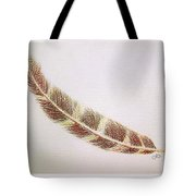 Hawk Feather Tote Bag