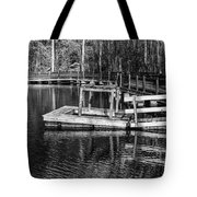 Hawk Island Michigan Dock  Tote Bag