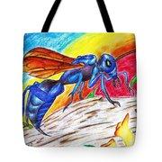 Hawk Wasp Tote Bag