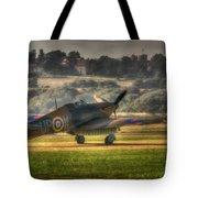 Hawker Hurricane Mk 1 R4118 Takeoff Tote Bag