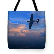 Hawker Hurricane On Dawn Patrol Tote Bag