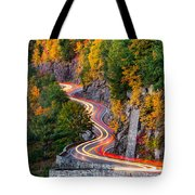 Hawk's Nest Tote Bag