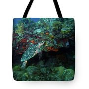 Hawksbill Sea Turtle 4 Tote Bag