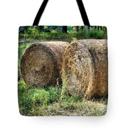 Hay Bay Rolls 3 Tote Bag
