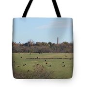 Peaceful Hay Field Tote Bag