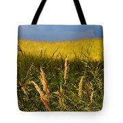 Hay Field Ready To Cut Tote Bag