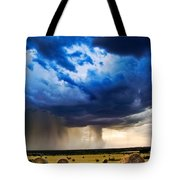 Hay In The Storm Tote Bag