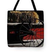 Hay On Wheels Tote Bag