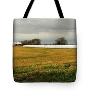 Hay Roll Tote Bag