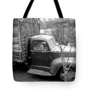Hay Truck Tote Bag
