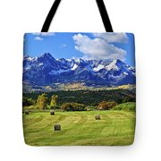 Hay With A View Tote Bag