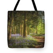 Hay Wood Bluebells 3 Tote Bag