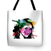 Hayden Panettiere Pop Art Tote Bag