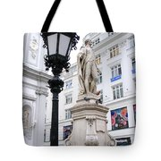 Haydn On Vienna Street Corner Tote Bag