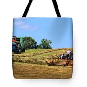 Haying The Field 1 Tote Bag