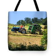 Haying The Field 3 Tote Bag