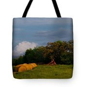 Haymaker Clouds Tote Bag