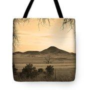 Haystack Mountain - Boulder County Colorado - Sepia Evening Tote Bag