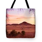 Haystack Mountain - Boulder County Colorado -  Sunset Evening Tote Bag