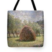 Haystacks At Giverny Tote Bag