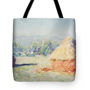 Haystacks In The Sun Tote Bag