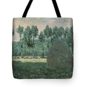 Haystacks Near Giverny Tote Bag