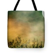 Haze On Moonlit Meadow Tote Bag