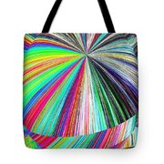 Hazelnut Abstract Tote Bag