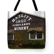 Hazlitt Winery 1852 Tote Bag