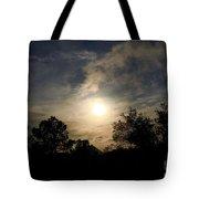 Hazy Evening Sun Tote Bag