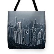 Hazy Hong Kong Tote Bag