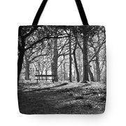 Hazy Loneliness Tote Bag